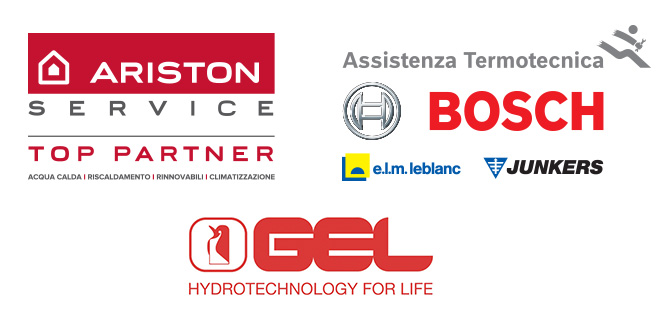 Ariston, Bosch, Gel, e.l.m. leblanc, Junkers